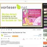 Märchenhörbücher bei YouTube